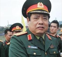 Bộ trưởng Phùng Quang Thanh đã về nước