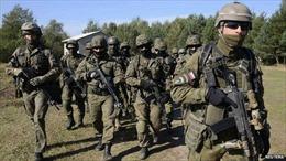 Mỹ, Ukraine, Ba Lan và Litva tiến hành tập trận quân sự chung