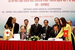 """""""Mở lối"""" cho người Việt tới Nhật Bản chữa bệnh"""