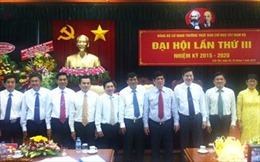 Đại hội lần thứ III Đảng bộ cơ quan thường trực Ban Chỉ đạo Tây Nam Bộ
