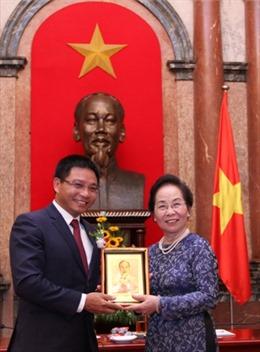 Chủ tịch HĐQT VietinBank  được tuyên dương tại chương trình Vinh quang Việt Nam