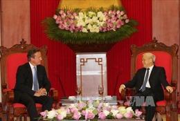 Tổng Bí thư Nguyễn Phú Trọng tiếp Thủ tướng Anh
