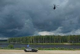 Quân đội các nước hào hứng tranh tài tại Nga