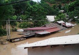 Mưa lũ gây ngập cục bộ tại huyện miền núi Thanh Hóa