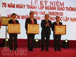 Kỷ niệm 70 năm ngày truyền thống Ngành giao thông vận tải Nghệ An