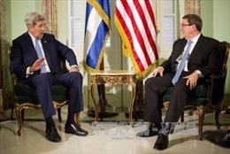 Ngoại trưởng Cuba và Mỹ hội đàm song phương