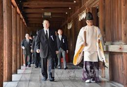 Trung Quốc phản đối Thủ tướng Nhật gửi lễ tới đền Yasukuni