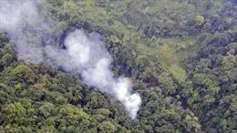 Colombia bác thông tin trực thăng bị bắn rơi