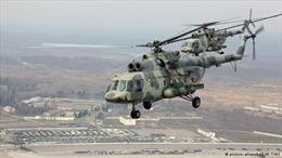 Trung Quốc: Trực thăng rơi khi tập luyện đại lễ duyệt binh