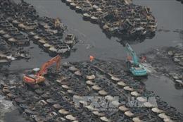 Bùng phát 4 đám cháy mới tại hiện trường vụ nổ Thiên Tân