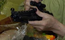 Bắt đối tượng đi cướp bằng... súng nhựa