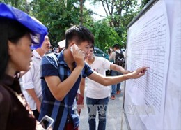 Nhiều trường đại học công bố điểm trúng tuyển