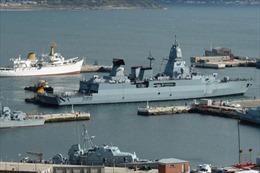 Lực lượng phản ứng trên biển NATO đến Tunisia