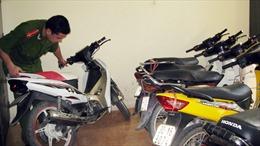 Bắt 7 đối tượng trong đường dây trộm cắp xe máy liên tỉnh
