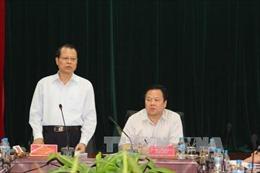 Phó Thủ tướng Vũ Văn Ninh làm việc tại Cao Bằng