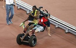 Tai nạn hy hữu của Usain Bolt tại Bắc Kinh
