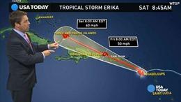 Cuba và Haiti ứng phó bão Erika