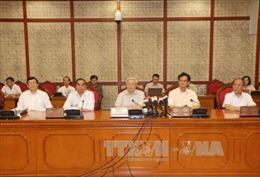 Bộ Chính trị cho ý kiến về chuẩn bị Đại hội Đảng bộ TPHCM
