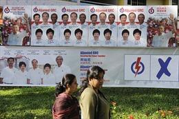 Bầu cử Singapore: Các ứng cử viên hoàn tất thủ tục đăng ký tranh cử
