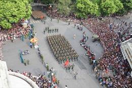 Toàn cảnh các lực lượng diễu binh trên đường phố Hà Nội