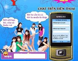 Dịch vụ 'tám chuyện' trên Yahoo Chat