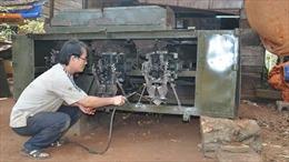 Người sáng chế máy gọt vỏ sắn tự động ở Tây Nguyên