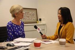 Gặp người gián tiếp đem lại nụ cười cho bệnh nhi Việt Nam