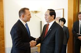 Bộ trưởng Bộ Công an Trần Đại Quang thăm làm việc tại Australia