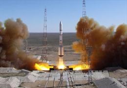 Nga phóng thành công vệ tinh sử dụng tên lửa đẩy Proton