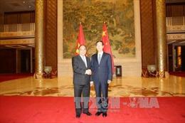 Phó Thủ tướng Nguyễn Xuân Phúc hội đàm với Phó Thủ tướng Trung Quốc Trương Cao Lệ