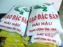 Xây dựng thương hiệu cho gạo Việt