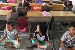 """Trường học """"hứng bão"""" vì bắt học sinh ngồi thiền thay ngủ trưa"""