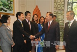 Phó Thủ tướng Vũ Văn Ninh thăm Đại sứ quán Việt Nam tại Bỉ