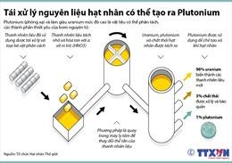 Quy trình tái xử lý nguyên liệu hạt nhân tạo ra Plutonium