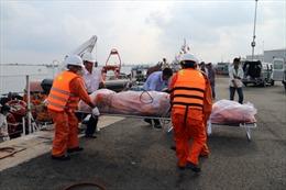 Tìm được 10 thi thể trong vụ tàu cá bị nạn trên biển Bà Rịa-Vũng Tàu