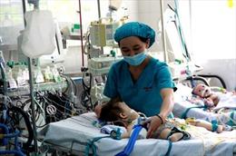 Tài trợ ba bệnh viện lớn mổ tim cho trẻ em nghèo
