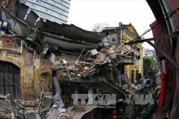 Các hộ dân trong vụ sập nhà cổ sẽ tạm cư tại Định Công