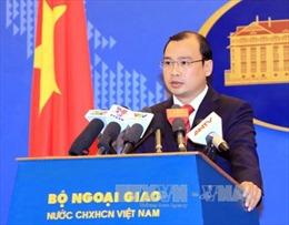 Kiên quyết phản đối Trung Quốc thông qua quy hoạch Trường Sa, Hoàng Sa