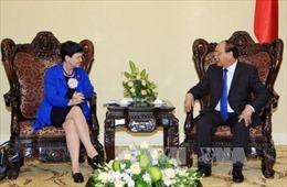 Phó Thủ tướng Nguyễn Xuân Phúc tiếp Quốc Vụ khanh Anh