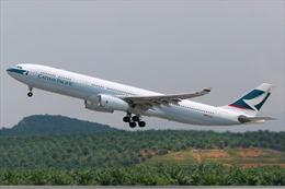Máy bay của Cathay Pacific hạ cánh khẩn cấp tại Bali do trục trặc động cơ