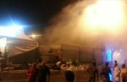 """Cháy lều trại tại chính nơi xảy ra """"thảm họa giẫm đạp"""" ở Mecca"""