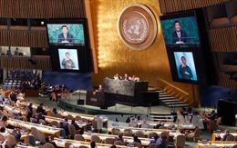 Khai mạc Hội nghị Thượng đỉnh phát triển bền vững của LHQ
