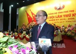 Xây dựng Phú Thọ thành tỉnh hàng đầu ở trung du và miền núi Bắc bộ