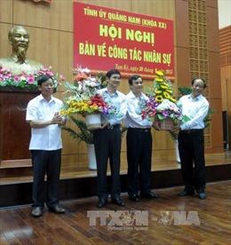 Ông Nguyễn Ngọc Quang giữ chức Bí thư Tỉnh ủy Quảng Nam
