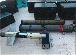 Liên quân Arab thông báo giữ tàu Iran chở vũ khí tới Yemen