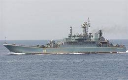Tàu chiến Nga bảo vệ căn cứ không quân ở Syria