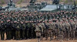 NATO bắt đầu tập trận quy mô lớn
