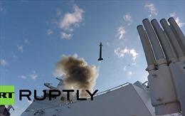 """Xem """"tân binh"""" hạm đội Baltic Nga phóng thử tên lửa"""