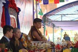 Đức Pháp Vương Gyalwang Drukpa cử hành lễ cầu siêu tại núi Bà Đen