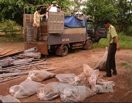 Phát hiện 3 vụ đặt bẫy thú hoang ở Phong Nha-Kẻ Bàng